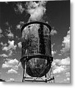 Water Tower At Mt Diablo Metal Print