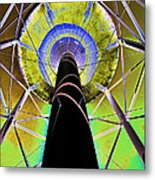 Water Tower Belly V Metal Print