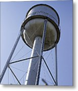 Water Tower Deer Lodge Montana Metal Print