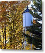 Water Tower Metal Print by Kathy DesJardins