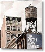 Water Towers 14 - New York City Metal Print