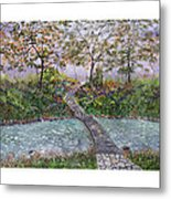Water Under The Bridge Metal Print by Leo Gehrtz