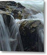 Water Veil Metal Print