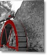 Water Wheel.  Metal Print
