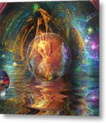 Water Worlds Metal Print