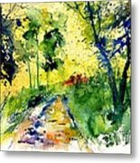 Watercolor 318012 Metal Print