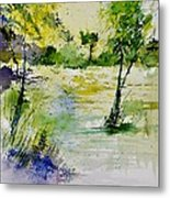 Watercolor 413022 Metal Print