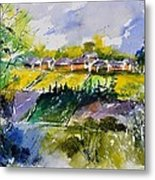 Watercolor 414022 Metal Print