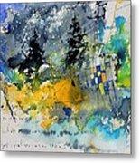 Watercolor 414062 Metal Print