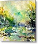 Watercolor 45319041 Metal Print