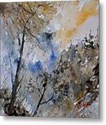 Watercolor 45319051 Metal Print