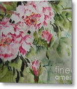 Watercolor Flower0730-1 Metal Print