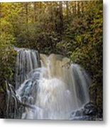 Waterfall After The Rain Metal Print