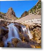 Waterfall At The Commodore Metal Print
