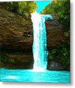 Waterfall Dreams Metal Print