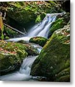 Waterfall Great Smoky Mountains  Metal Print