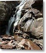 Waterfall In Colorado Metal Print
