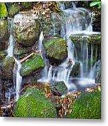 Waterfall In Marlay Park Metal Print