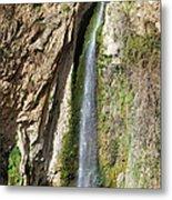 Waterfall In Ronda Metal Print