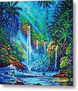 Waterfall Metal Print by Joseph   Ruff