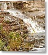 Waterfall Metal Print by Kimberly  Maiden