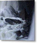 Waterfall Motion Metal Print