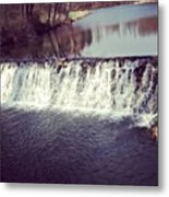 #waterfall #newyork #water #nature Metal Print