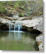 Waterfall On Piney Creek Metal Print