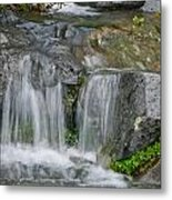 Waterfall On The Paradise River Metal Print