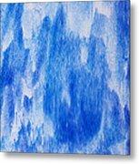 Waterfall Painting Metal Print