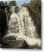Waterfall Metal Print by Peter Cassidy