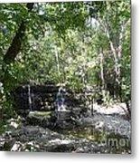 Waterfall Trail Metal Print