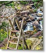 Waterfall Way Metal Print