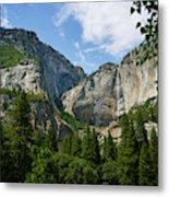 Waterfall, Yosemite Valley, Yosemite Metal Print