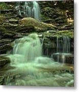 Waterfalling Through Ricketts Glen Metal Print