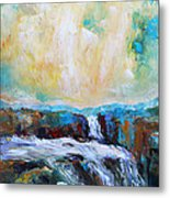 Waterfalls 2 Metal Print