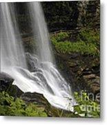 Waterfalls At Base Metal Print