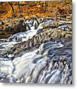 Waterfalls At Fishkill Creek Metal Print