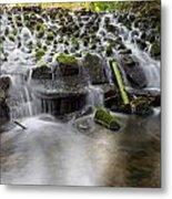 Waterfalls In Marlay Park Metal Print