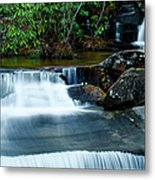 Waterfalls Of Carreck Creek Metal Print
