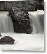 Waterfalls On Nigel Creek Metal Print