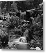 Waterfalls On The Mr J B Van Sciver Estate Metal Print