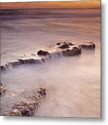 Waterfalls On The Rocks Metal Print