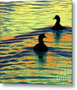 Waterfowl Metal Print