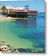 Waterfront At Cannery Row Metal Print