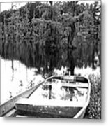 Waterlogged Metal Print