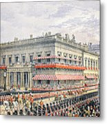 Waterloo Place And Pall Mall Metal Print