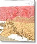 Watermarks Shoreline Metal Print