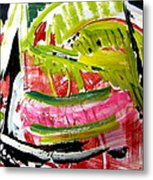 'watermelon' Metal Print