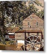 Watermill Two Metal Print